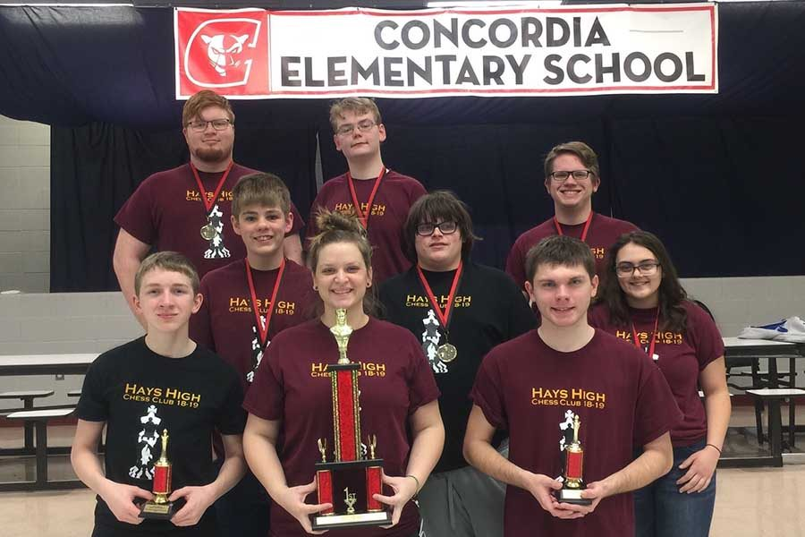 Chess team wins first at Concordia tournament