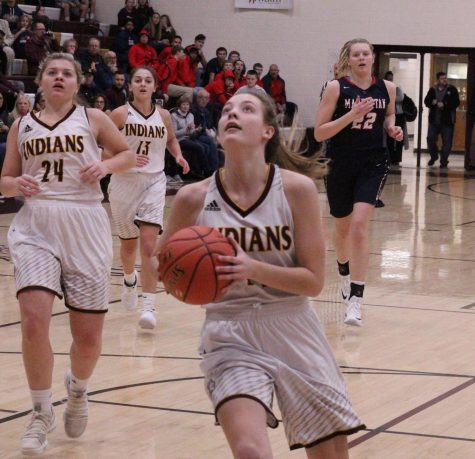 Lady Indians basketball takes close 47-44 victory over Colby Eagles Dec. 11