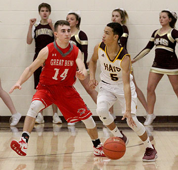 Boys basketball clinches victory of league rivals