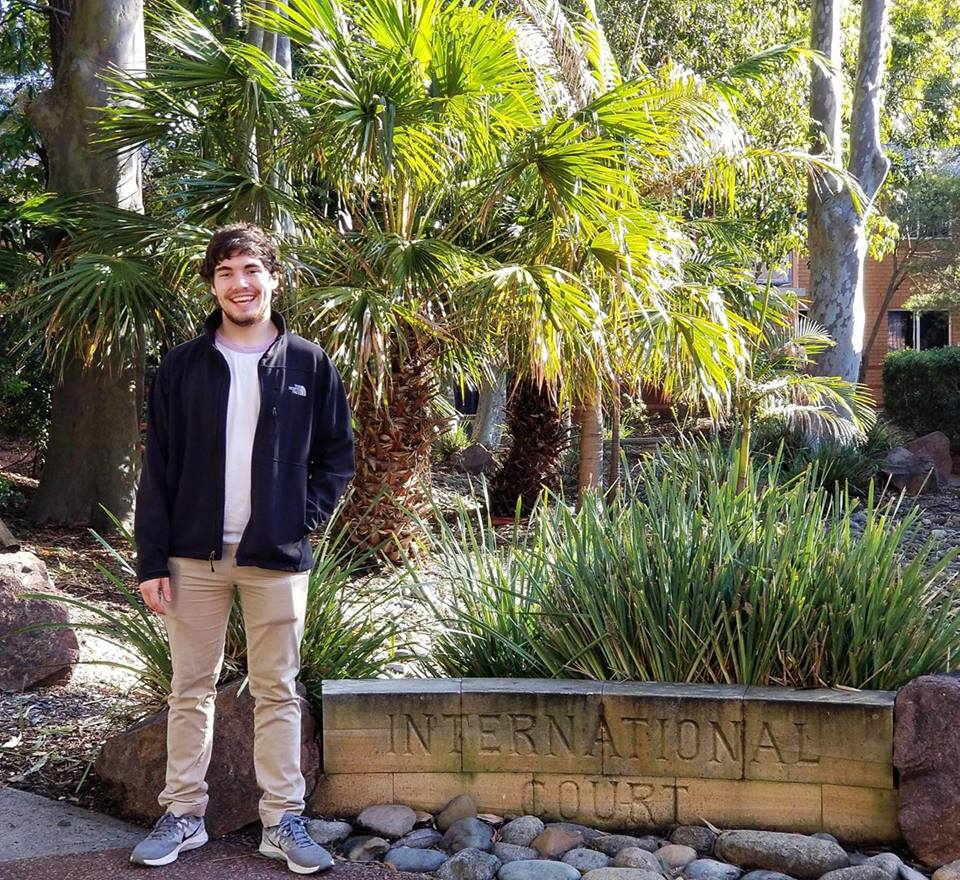 2016 graduate Trenton Potter traveled to Australia for a semester in 2018. Potter said it was scary for him, but it helped him grow as a person more than any other event.