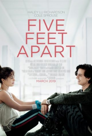"The movie ""Five Feet Apart"" was released in theaters in the United States on March 15."