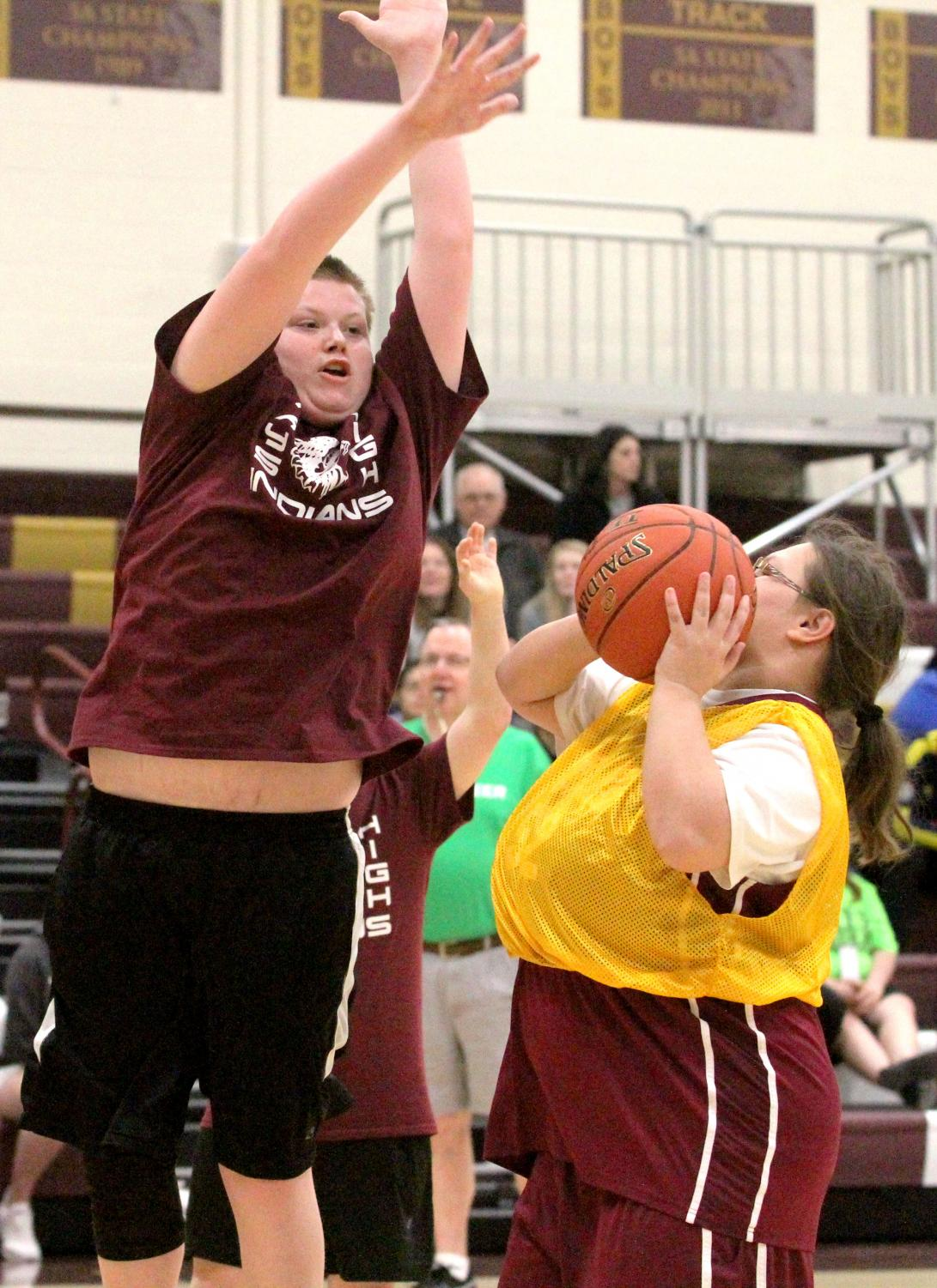 Hays High hosted the annual Special Olympics Kansas basketball tournament on March 22.