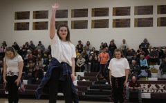 Dance team tryouts come to end
