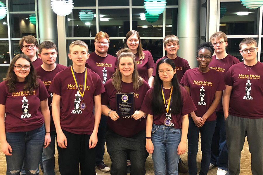 Chess club takes seventh at state competition