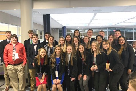 Students compete at State Career Development Conference