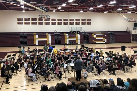 Concert Band, Jazz Band perform 32nd annual Popcorn Concert