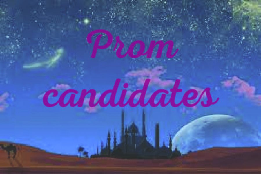 Juniors and seniors will vote for the candidate they want to be crowned royalty the week of the dance. The king and queen will be announced at the dance on April 13.