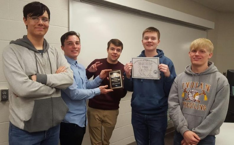 Team Hays one placed second at the FHSU Science Bowl. Hays High brought four teams to the event.