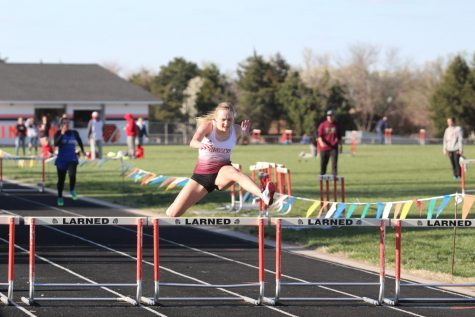 Indian track claims first place victory at Larned High School Varsity Invitation on April 12