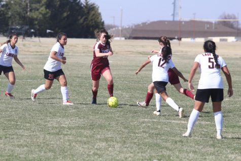 Lady Indian soccer advances to next round of regionals after, 3-0, victory against Salina-Central