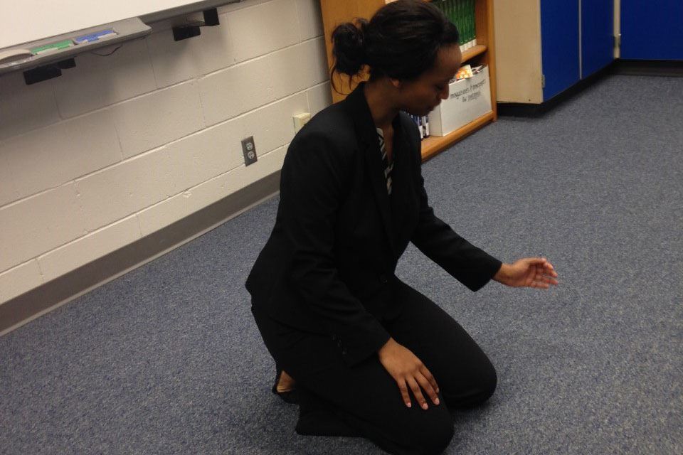 Junior Mulu Bannister was the first Hays High student to compete at NIETOC, a national competition.