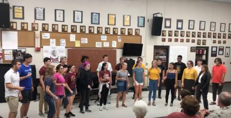 "Chamber Singers give their debut performance of ""Thunder"" by Imagine Dragons at Indian Pride Night on Aug. 26."