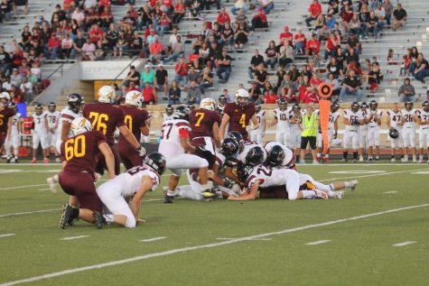 Indian football falls to McPherson on homecoming night