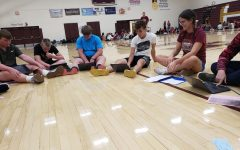 Leadership Team meets for first time with new freshmen
