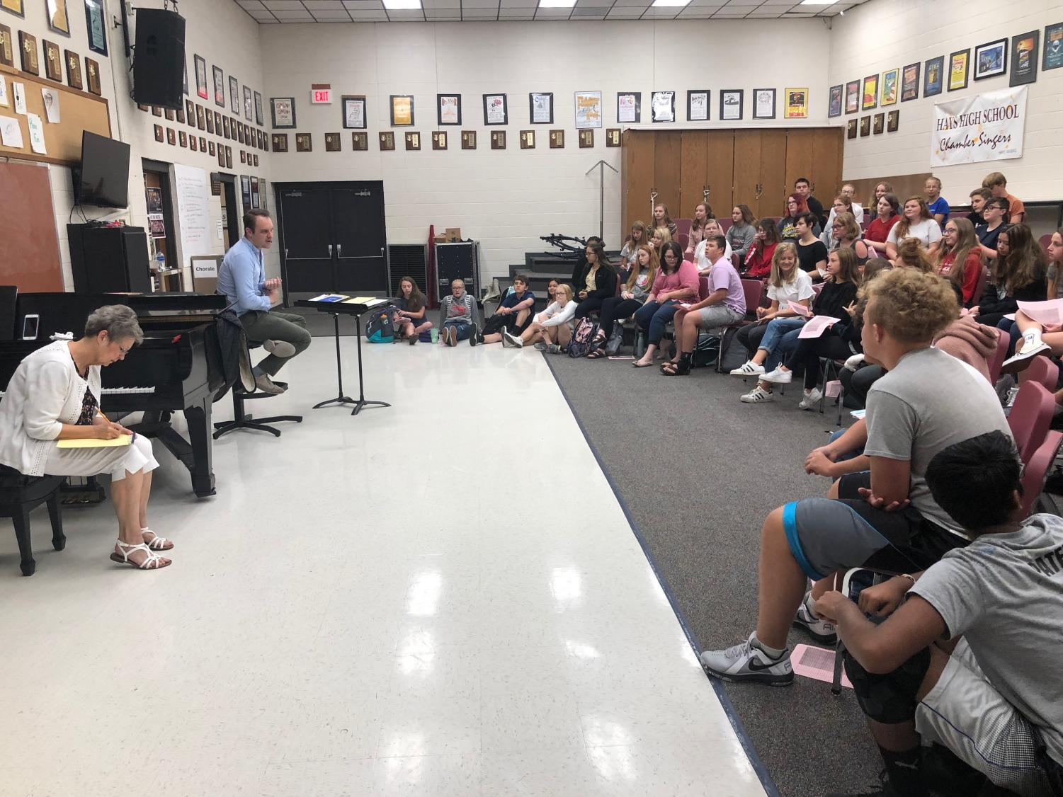 Director Alex Underwood breaks down the logistics for this year's Musical,