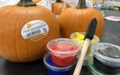 Achieve team initiates pumpkin decorating contest during PRIDE Time