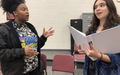 Leading Musical cast members perform for Hays Optimist Club, promote upcoming show