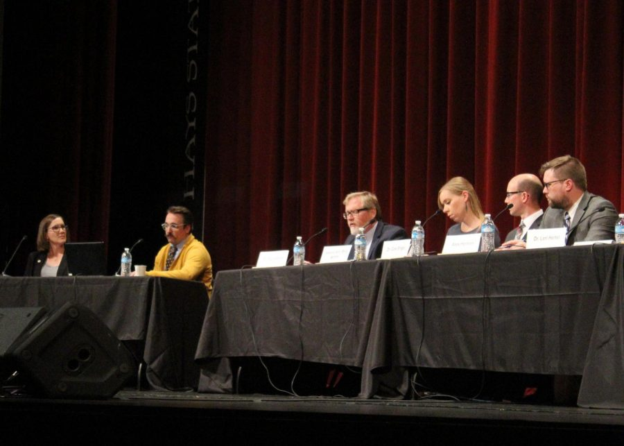 Community members had the opportunity to attend the Board of Education debate on Oct. 22.