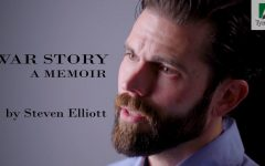 Army Ranger and author of 'War Story' Steven Elliott shares life journey with students