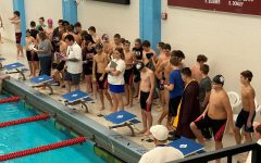 Boys swim takes fifth at Salina South