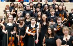 Orchestra students attend annual Western Kansas Orchestra Festival