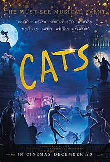 Cats is a film that was released in 2019 as a remake of the Broadway musical. However, it was given such negative reviews that it was recalled from theaters.