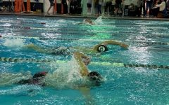 Boys swim participates at Western Athletic Conference