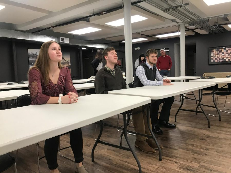 Four Hays High seniors are involved with Community Ambassadors, a chance to become more involved in the Hays community.