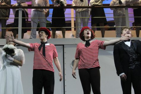 "Out of 25 possible nomination categories, Hays High's Fall Musical ""Anything Goes"" received six. This year's Jester Awards Ceremony will be broadcasted virtually on May 3"