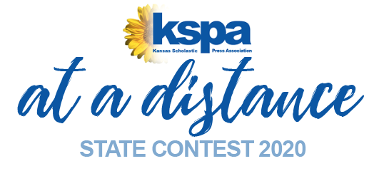 This year's Kansas Scholastic Press Association's state journalism competition would have been held at the University of Kansas in Lawrence on May 2 if not for the COVID-19 school closings. In order to combat the circumstances, KSPA created multiple new events allowing students to participate from their homes.