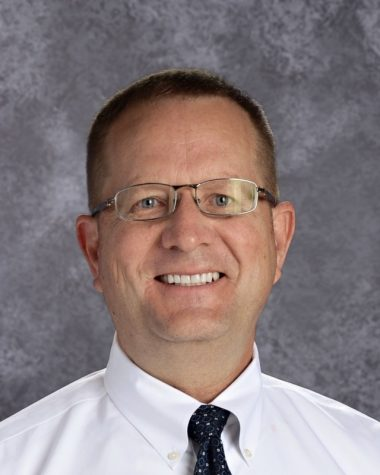 "Principal Martin Straub was awarded Northwest Kansas KMEA Administrator of the Year for ""showing special support for the arts as an indispensable part of the school curriculum,"" as the award"