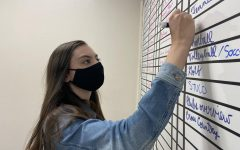 Senior Alicia Feyerherm was given the role of Editor-in-Chief of the Guidon for the 2020-2021 school year.