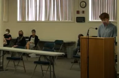 Senior creates petition in favor of required masks in school, presents to USD 489 Board of Education