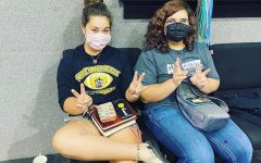 Hays High students design their own masks