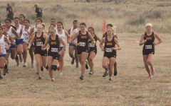The WAC meet was in Liberal. The boys ran 5,000-meter race, and the girls ran a 4,000-meter race.