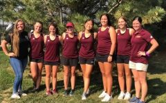 The girls' varsity team competed at Maize High School for regionals on Oct. 10.