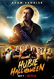 The poster for the movie Hubie Halloween.