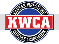 Logo of the Kansas Wrestling Coaches Association.