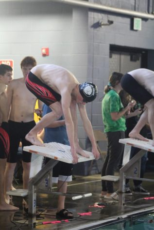Boys swim next meet will be on Dec. 8 in Great Bend.