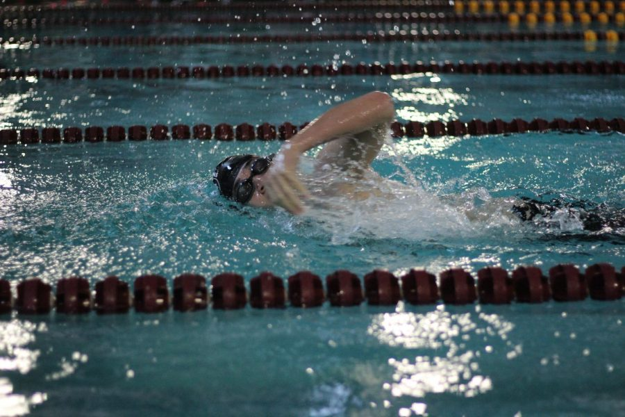 Boys swim next meet was Dec. 12 at Wichita Southeast.