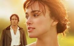 The main character Elizabeth Bennet is played by Kiera Knightley and her love interest Mr. Darcy is played by Matthew Macfayden.
