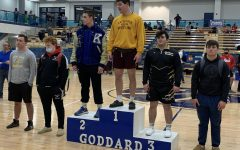 Junior Gavin Meyers qualified for State. State wrestling will be on Feb. 26.