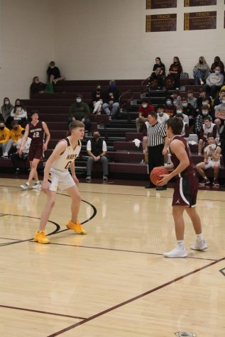 Boys Basketball game on Friday Jan. 29 against Salina Central.