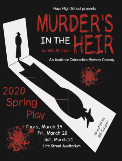 Murders in the Heir graphic