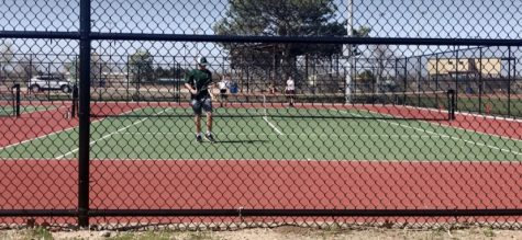 Boys tennis face tough competition at regionals.