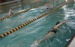Girls swimming next meet was on April 30 at Great Bend and May 4 at Hutchinson.