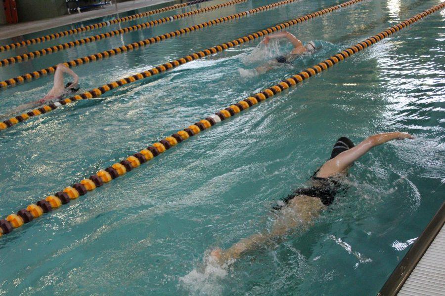 Girls swimming next meet was on April 30 at Great Bend and May 4 at Hutchinson.