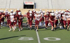 The Indians were able to pick up a win against their rivals The Great Bend Panthers, and improve their record to 2-0. The Hays High defense was able to hold the Panthers to negative nine yards for the entire game.