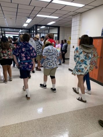 Homecoming spirit days promote student participation