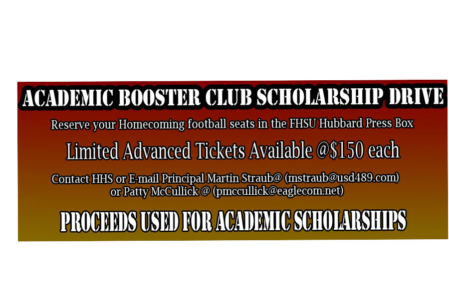 Academic Booster Club conducts scholarship drive